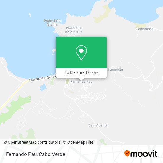Fernando Pau mapa