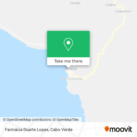Farmácia Duarte Lopes mapa