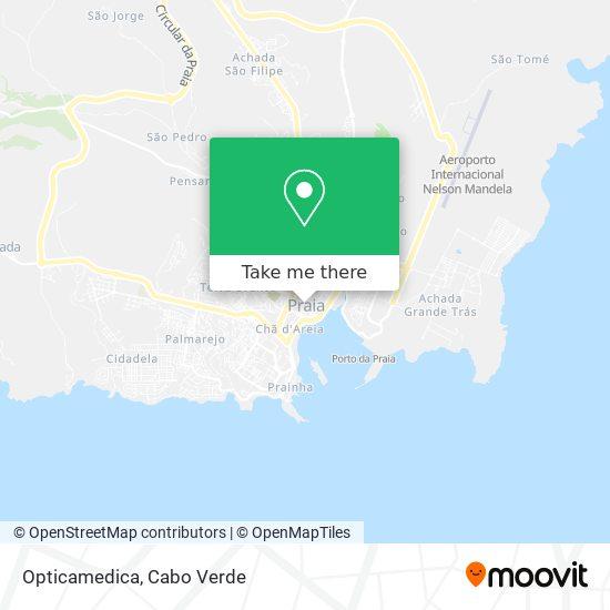Opticamedica mapa