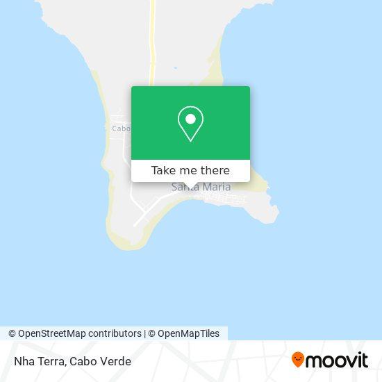 Nha Terra mapa