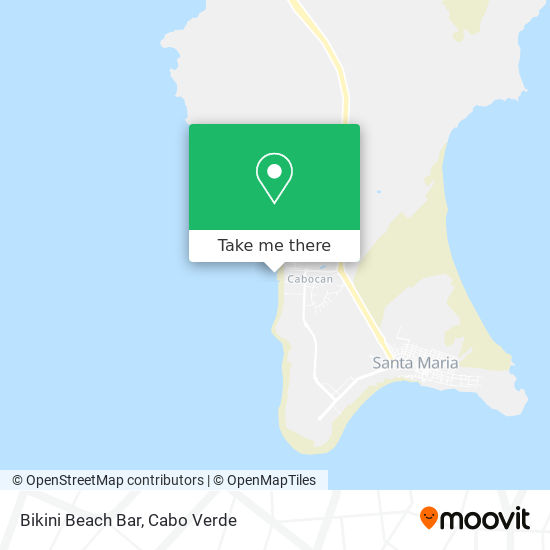 Bikini Beach Bar mapa