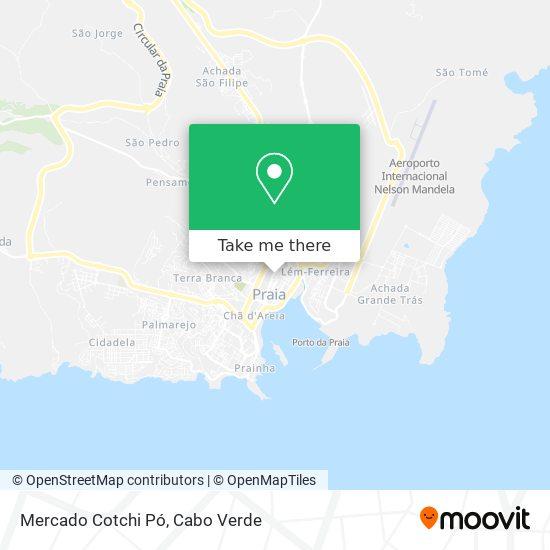 Mercado Cotchi Pó mapa