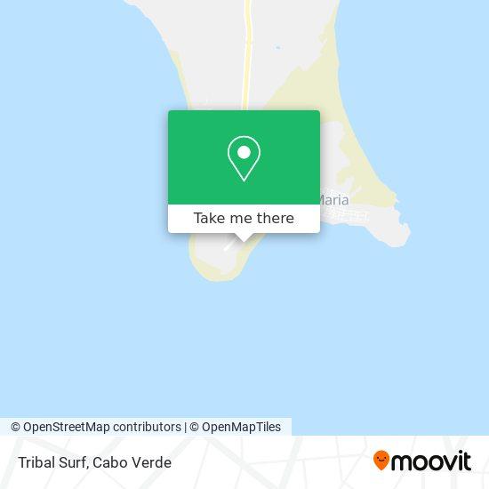 Tribal Surf mapa