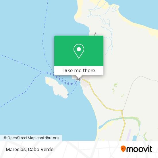 Maresias mapa