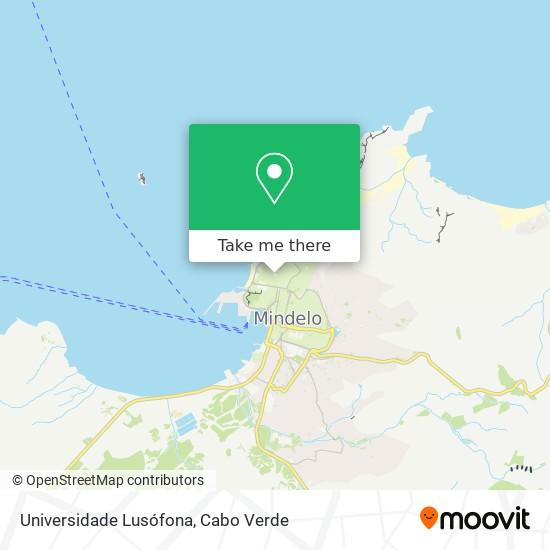 Universidade Lusófona mapa