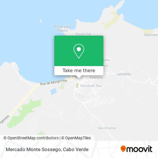 Mercado Monte Sossego mapa