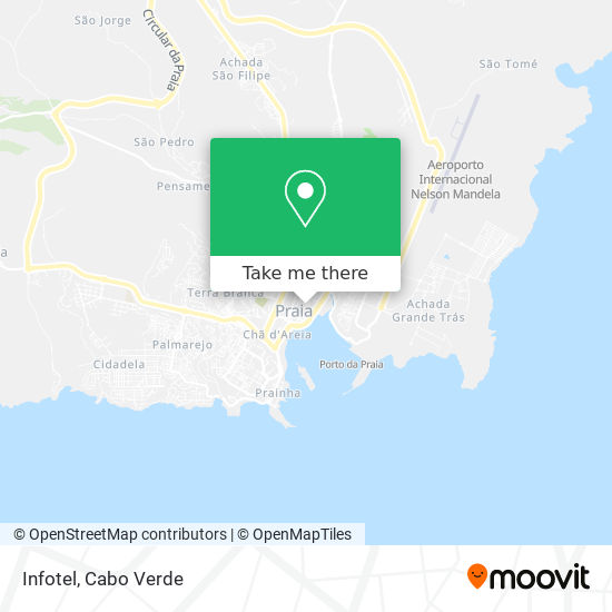 Infotel mapa