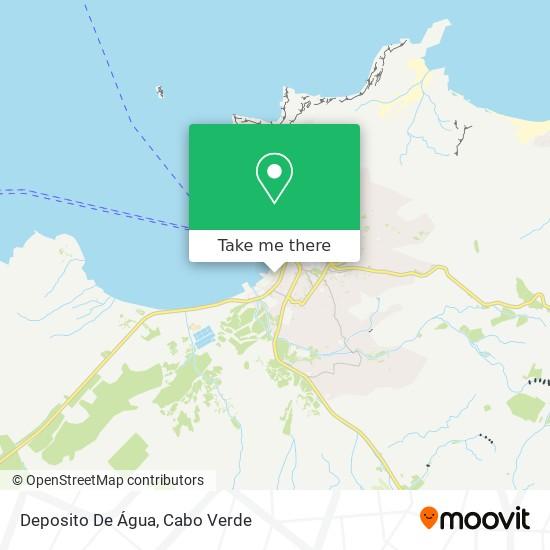 Deposito De Água mapa