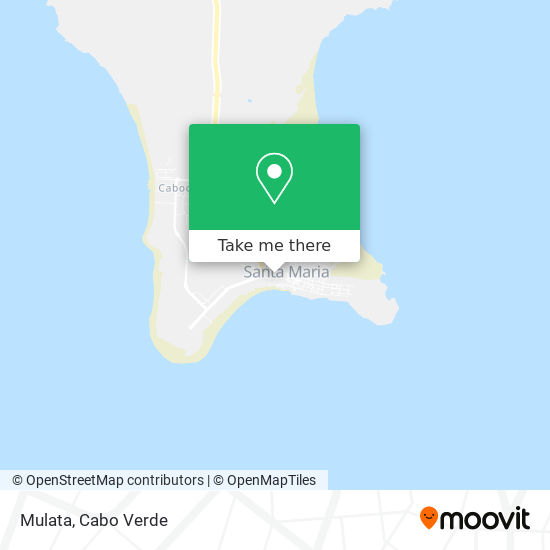Mulata mapa