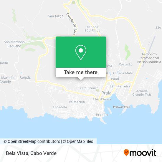 Bela Vista mapa