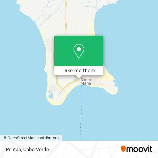 Pentão mapa