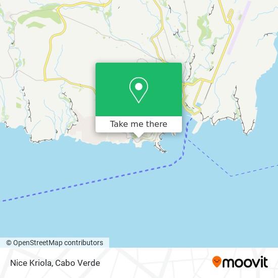 Nice Kriola mapa