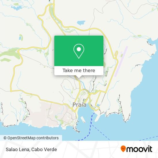 Salao Lena mapa
