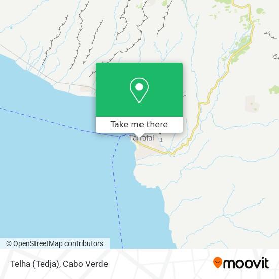Telha (Tedja) mapa