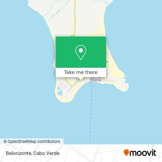 Belorizonte mapa