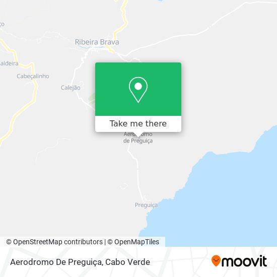 Aerodromo De Preguiça mapa