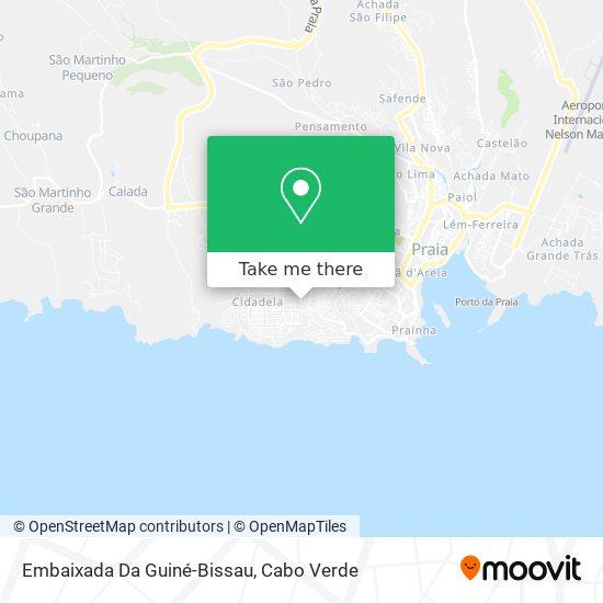 Consulado Geral De Guine Bissau mapa