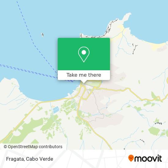 Fragata mapa