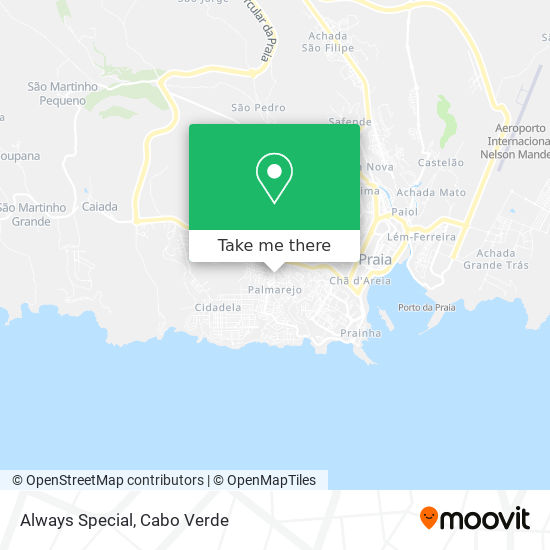Always Special mapa