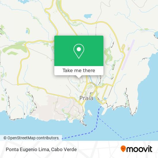 Ponta Eugenio Lima mapa