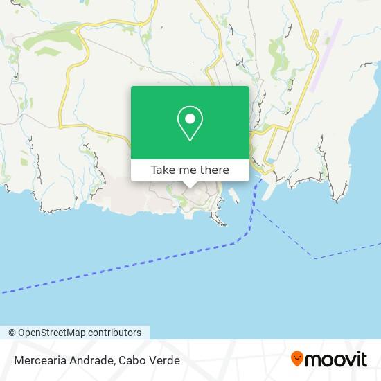Mercearia Andrade mapa