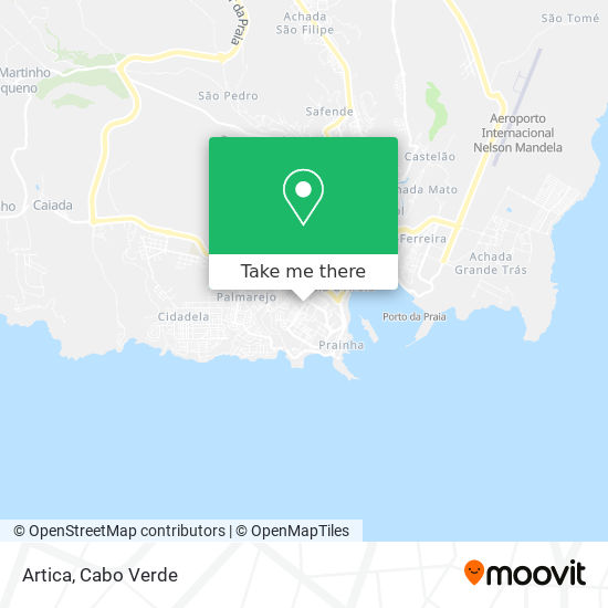 Artica mapa
