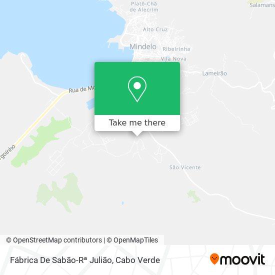 Fábrica De Sabão-Rª Julião mapa