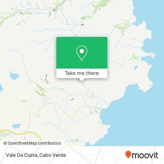 Vale Da Custa mapa