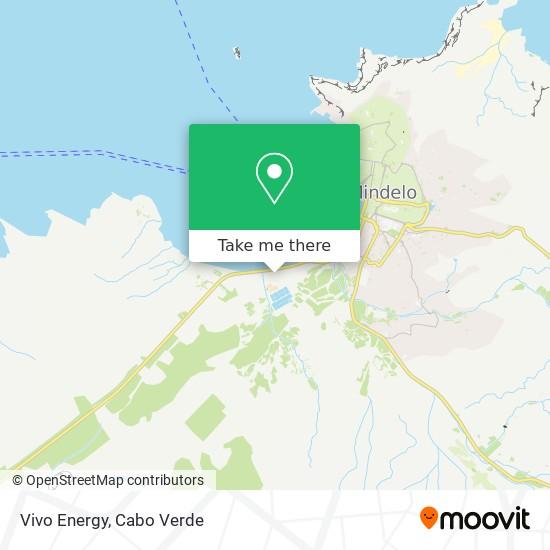 Vivo Energy mapa