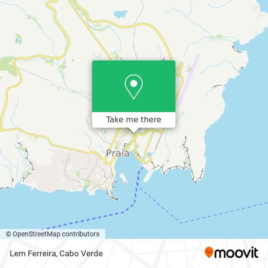 Lem Ferreira mapa