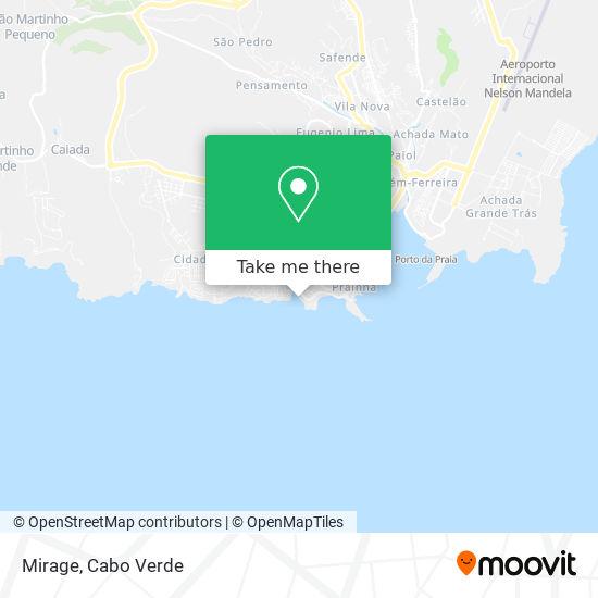 Mirage mapa