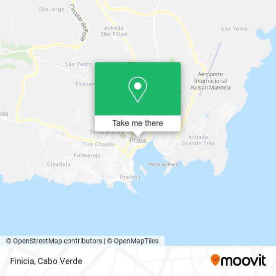 Finicia mapa