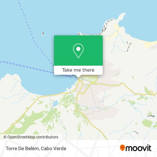 Torre De Belém mapa