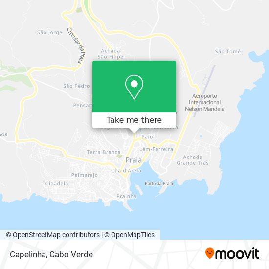 Capelinha mapa