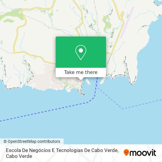 Escola De Negócios E Tecnologias De Cabo Verde mapa