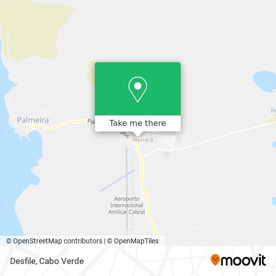 Desfile mapa
