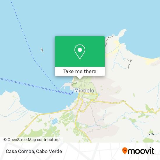 Casa Comba mapa