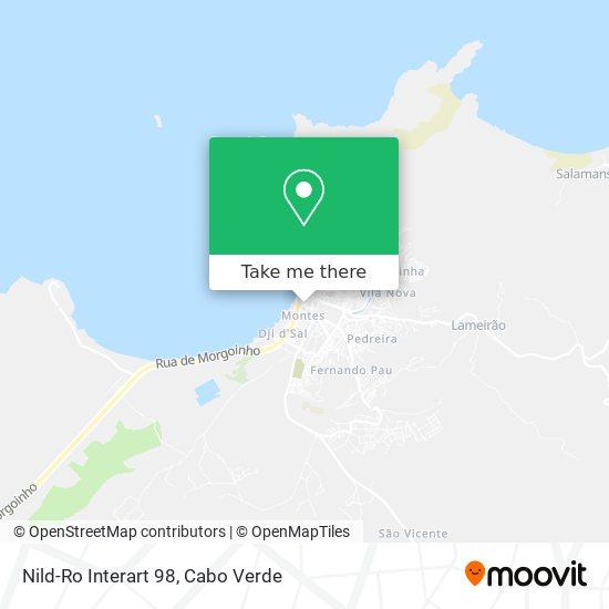 Nild-Ro Interart 98 mapa