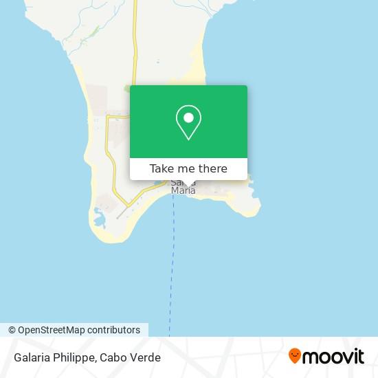 Galaria Philippe mapa