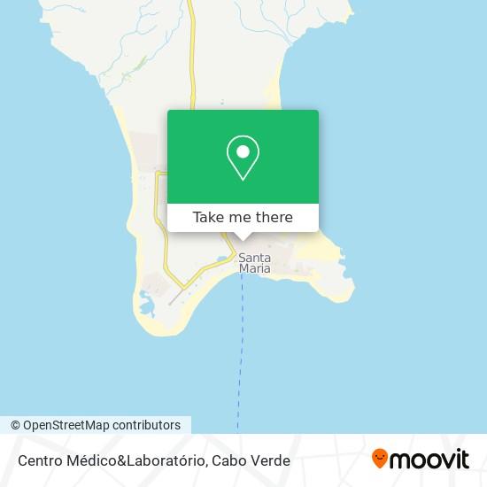 Centro Médico&Laboratório mapa