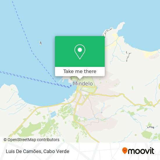 Luís De Camões mapa