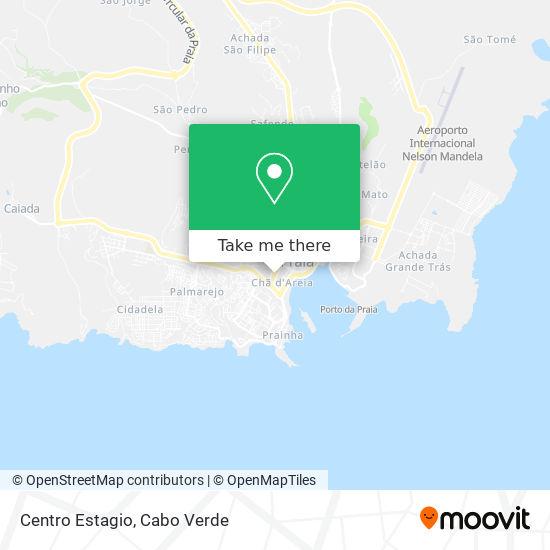 Centro Estagio mapa