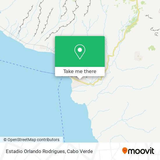Estadio Orlando Rodrigues mapa