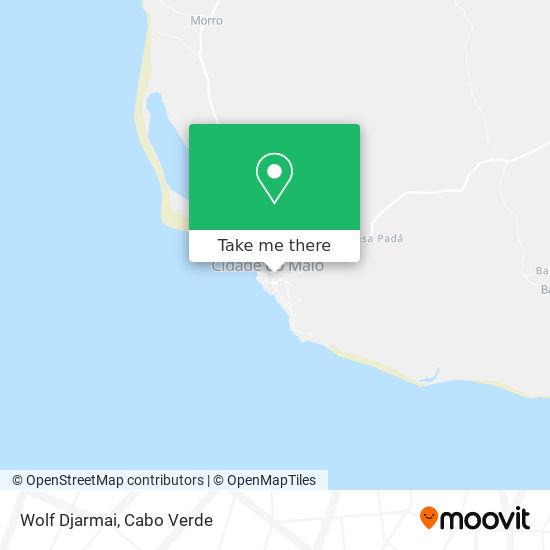 Wolf Djarmai mapa