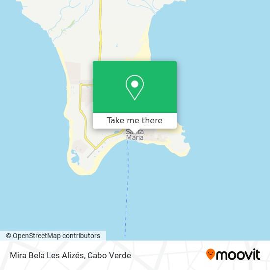 Mira Bela Les Alizés mapa
