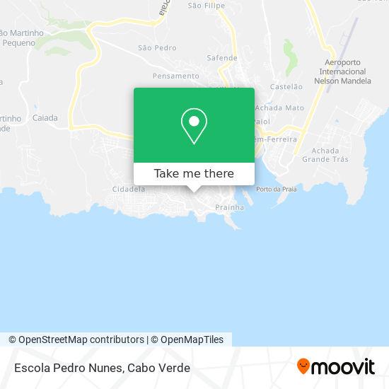 Escola Pedro Nunes mapa