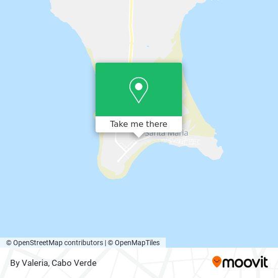 Da Valeria mapa