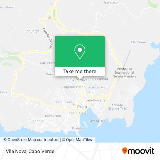 Vila Nova mapa