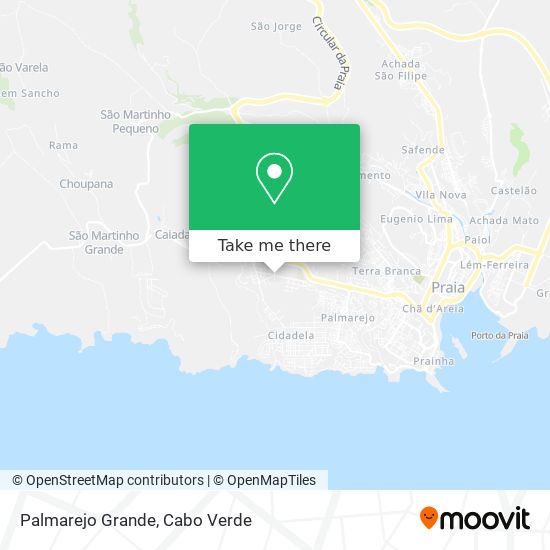 Palmarejo Grande mapa