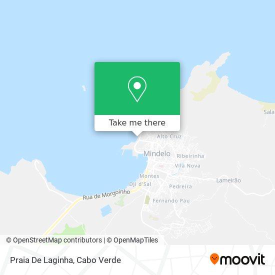 Praia De Laginha mapa